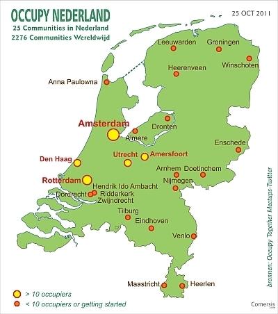 occupy nederland